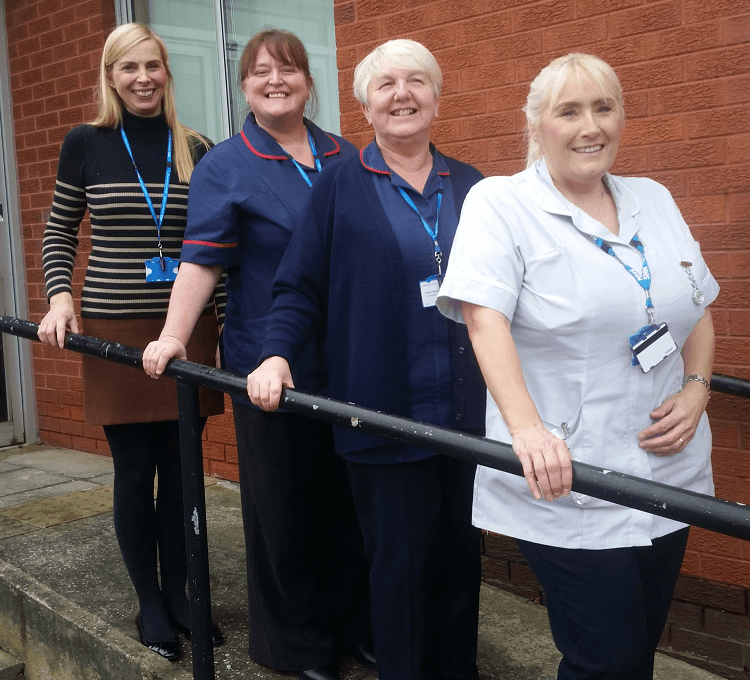 Fall prevention drop in session in Widnes - January 2020