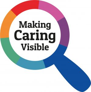 Carers week 2020 logo - making caring visible