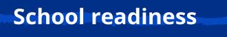 School readiness menu link